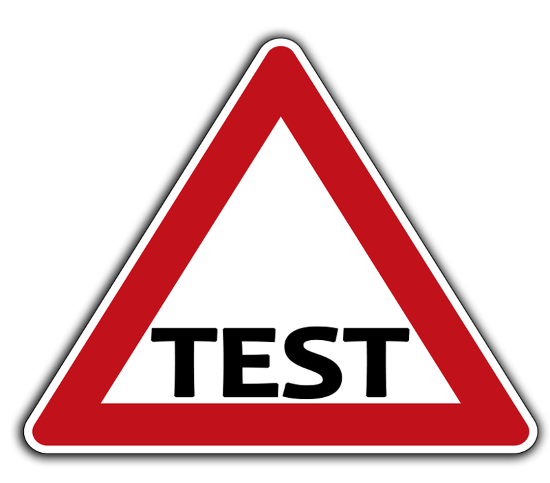 Test Road Sign
