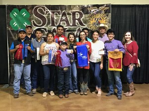 Pictured are VMHS FFA students that participated at the South Texas Agricultural Roundup (STAR Show) and their FFA Instructors.