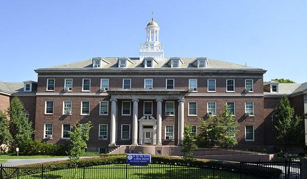 Photograph of Schermerhorn Hall taken from Pelham Parkway.
