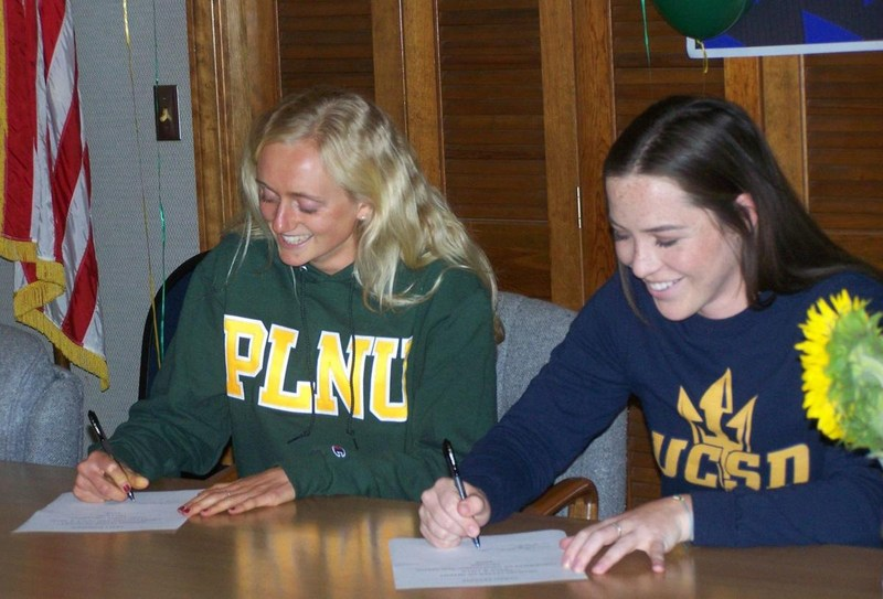 SYHS Track & Field Athletes Sign National Letters of Intent Featured Photo
