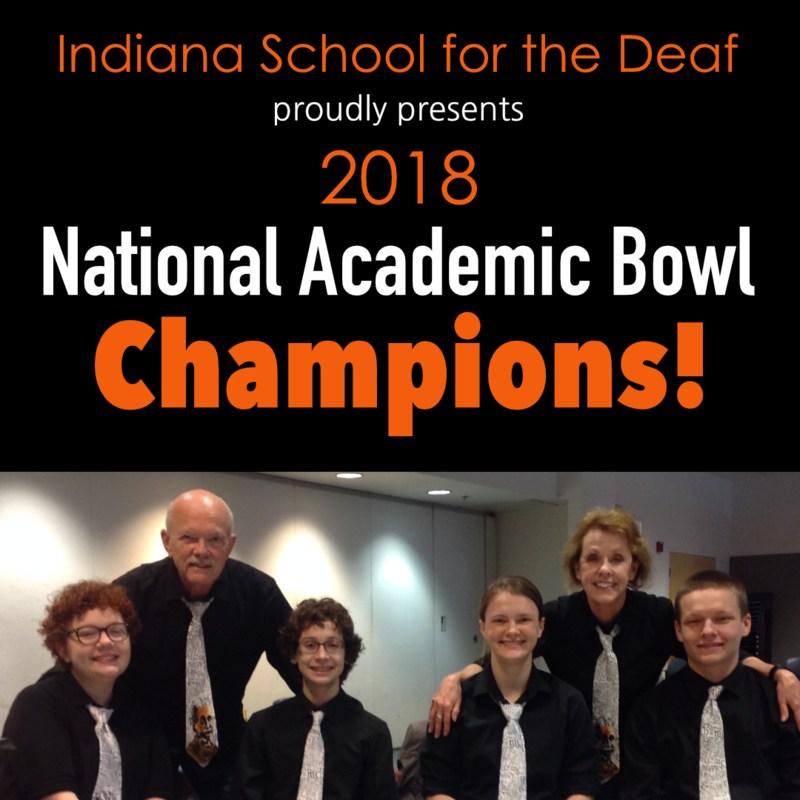 2018 Academic Bowl Champions