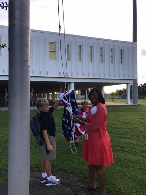 Raising of The Flag Thumbnail Image