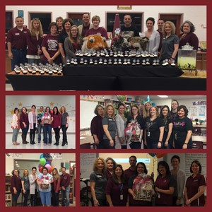 photo collage of teachers of the year