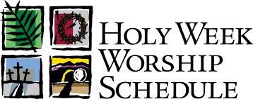 Holy Week Services Thumbnail Image