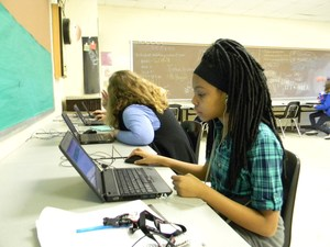 CMS Students use Muzology to learn algebra
