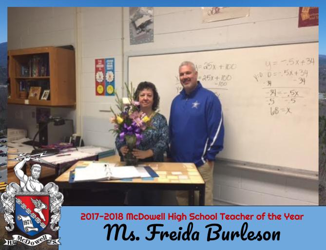 2017-2018 Teacher of the Year