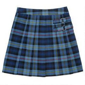 girl's plaid skirt