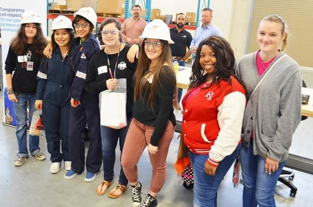 VISD Students Take Part in Victoria College's 'Women In Industry' Event Thumbnail Image