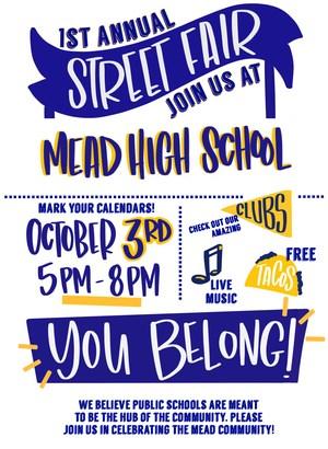 Mead High School Street Fair