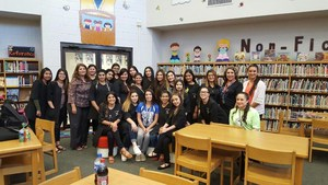 VMHS Cosmetology treats Bryan Staff to Spa Day