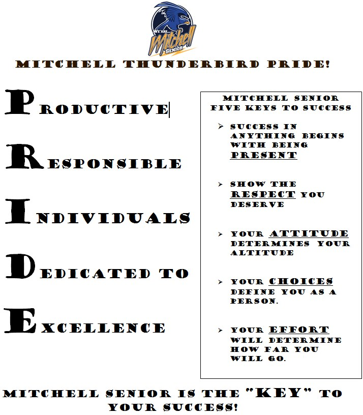 Mitchell Key to Success Message