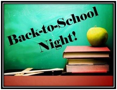 Back to School Night is Coming Thumbnail Image