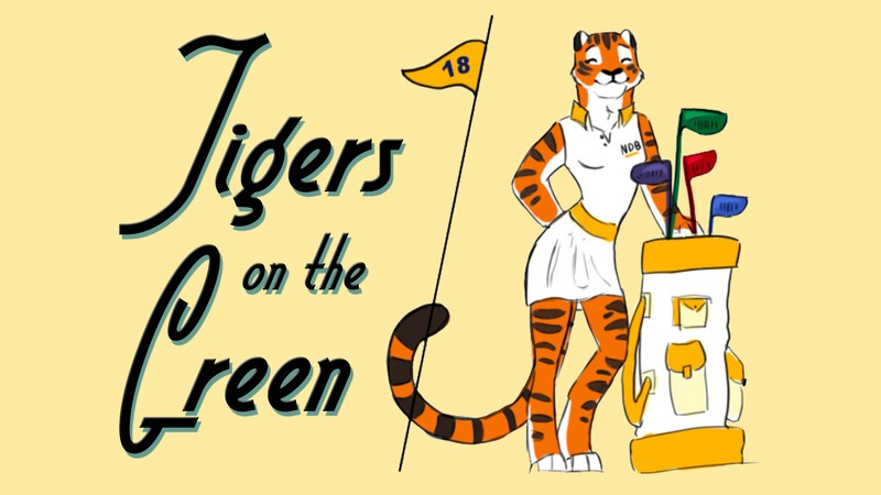 Tigers on the Green Thumbnail Image