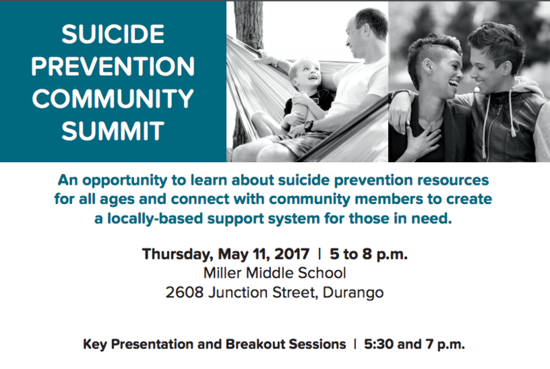Screenshot of the Suicide Summit Poster.