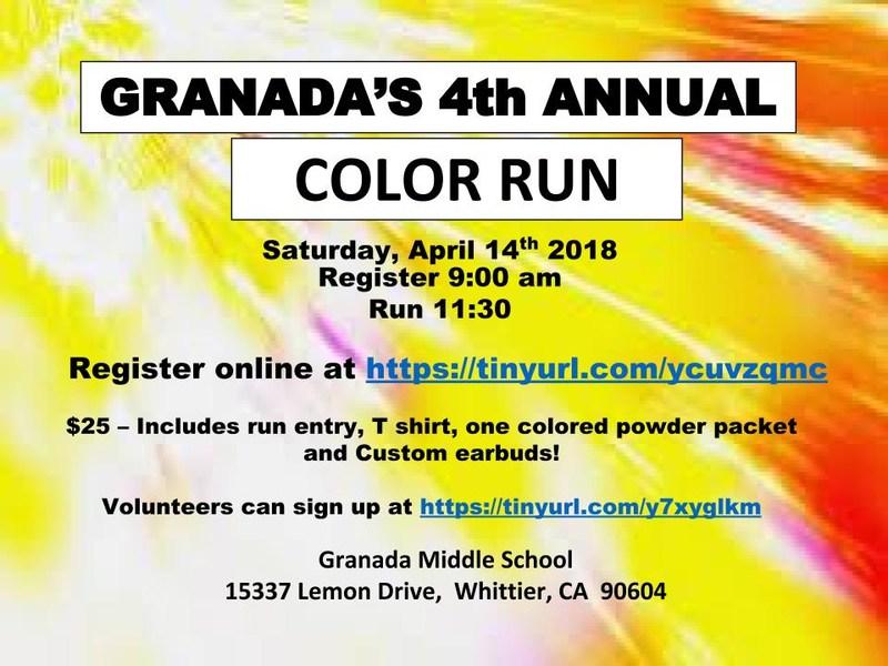 Granada Color Run