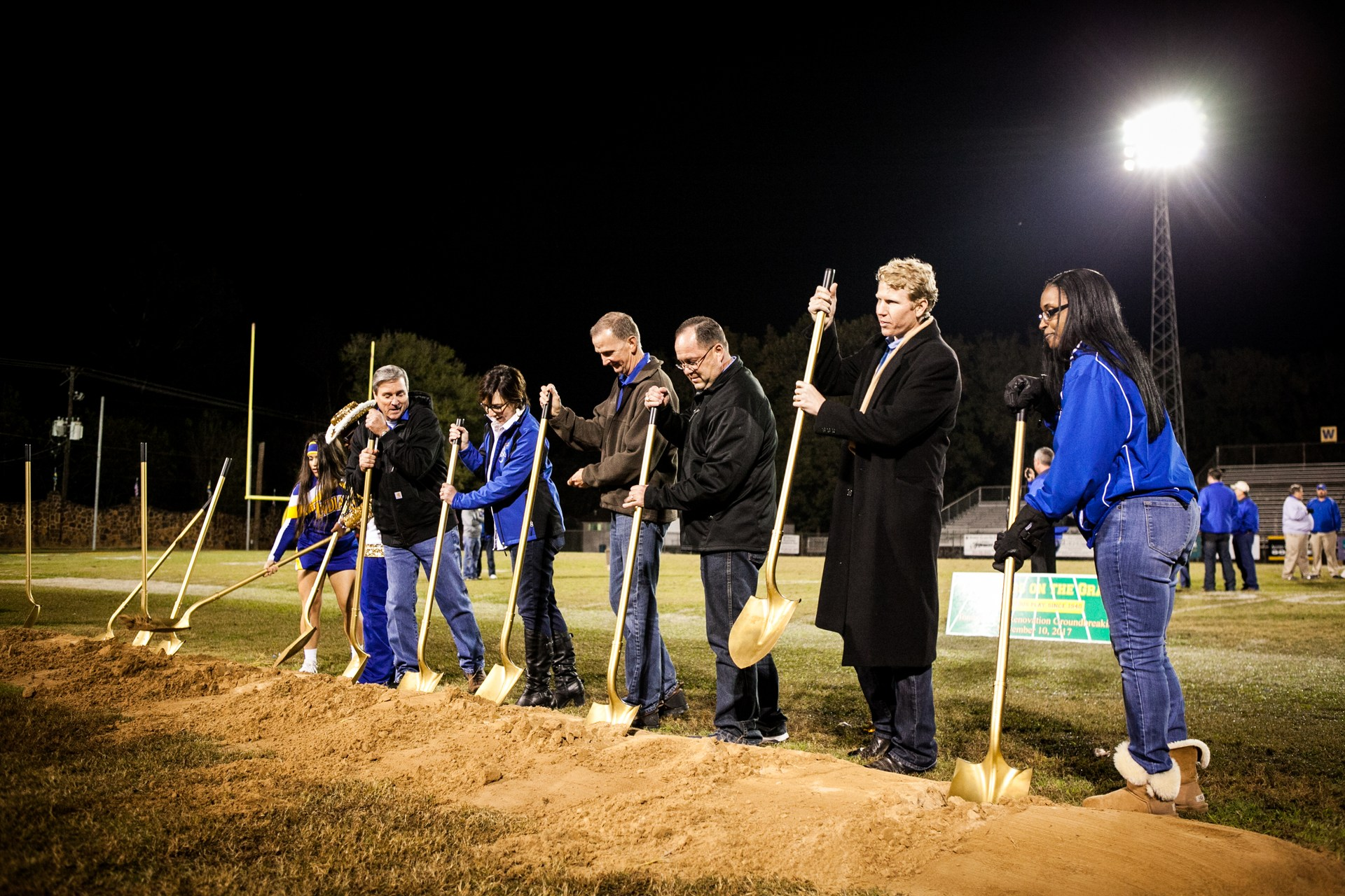 JHS administration breaking ground