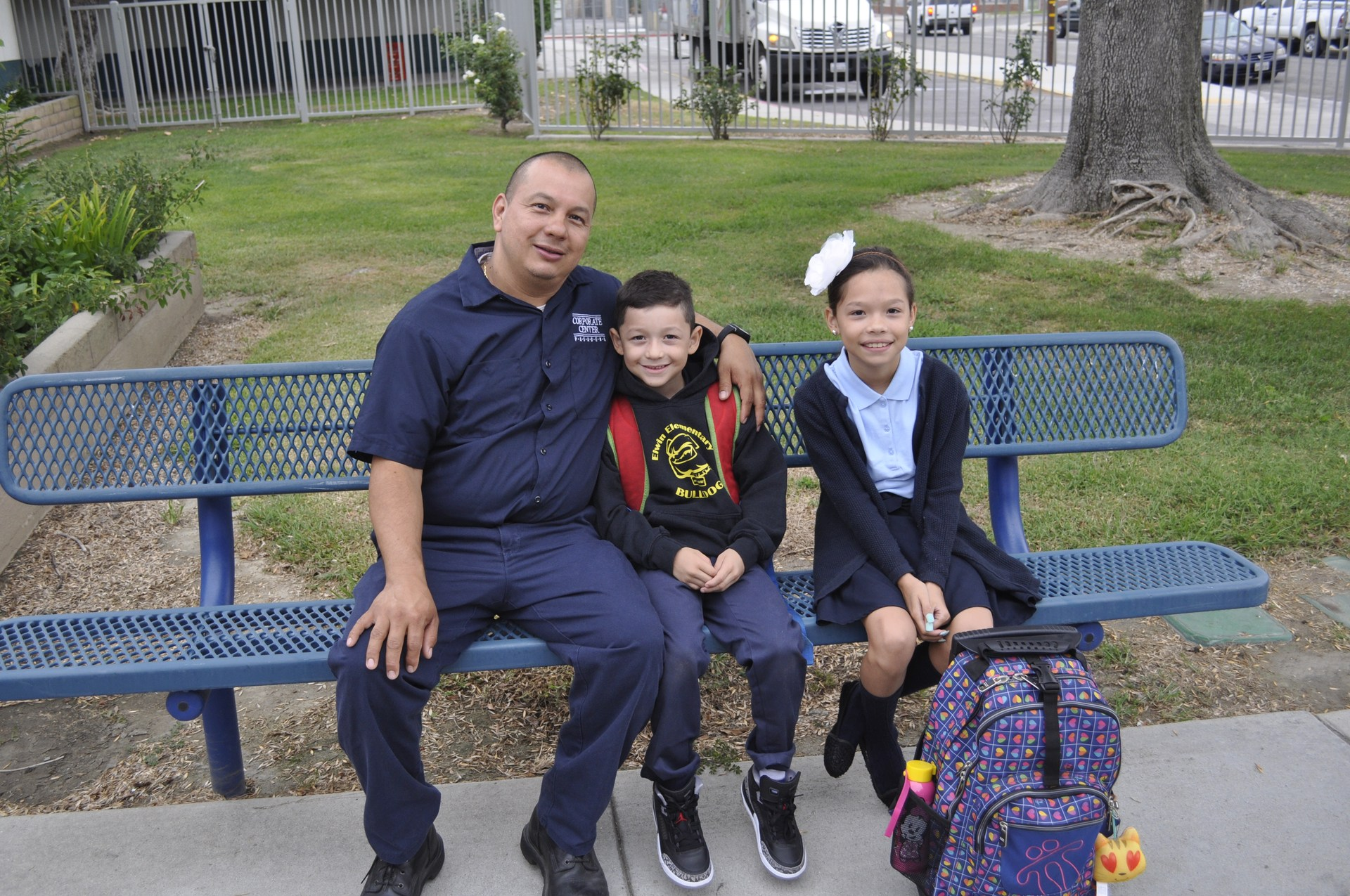 Elwin Elementary School, First Day, 2017