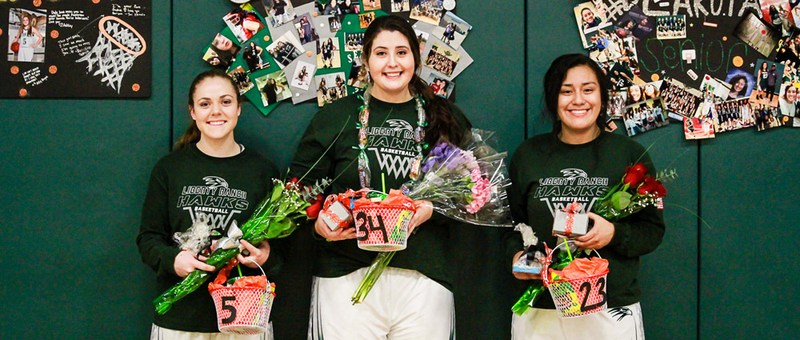 Liberty Ranch Girls Basketball - Senior Night Thumbnail Image