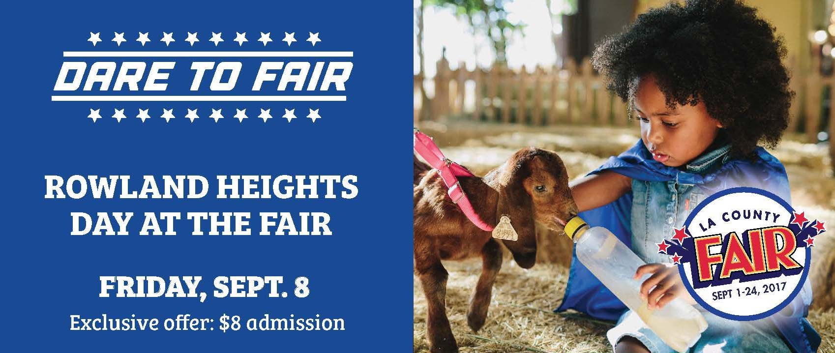 Rowland Heights Day at the Fair Coupon