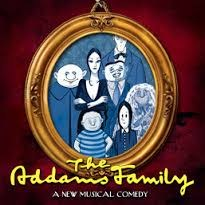 Image of the Addams Family for promotion of FHS spring musical