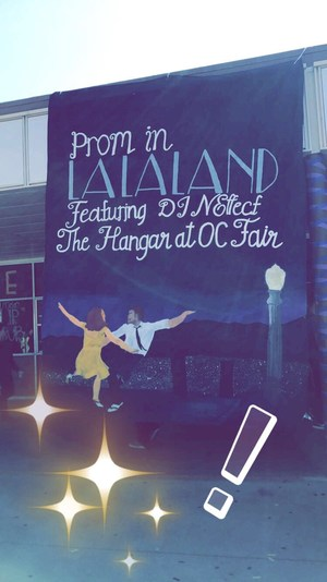Prom In La La Land Poster