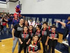 Midkiff Elementary Dinamites under Yvonne Ayala - Challenge B: Scientific Elementary Level