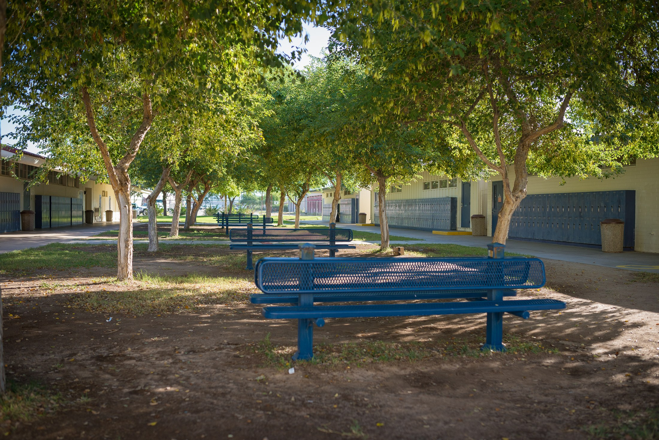 High school grounds