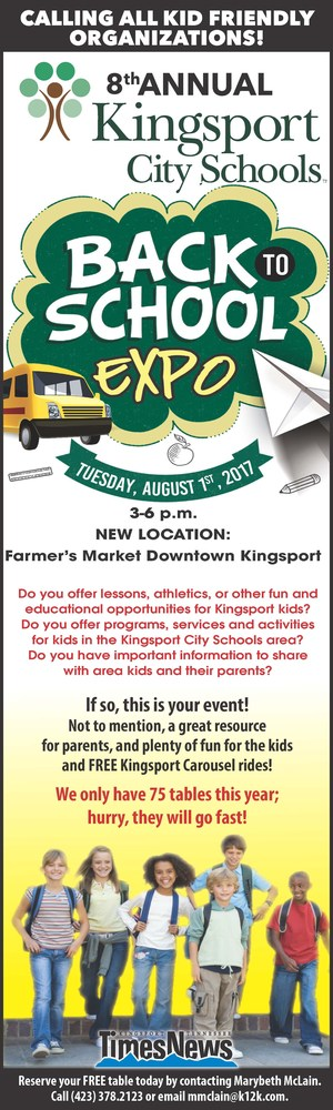 Back to School Expo Call to Action Ad