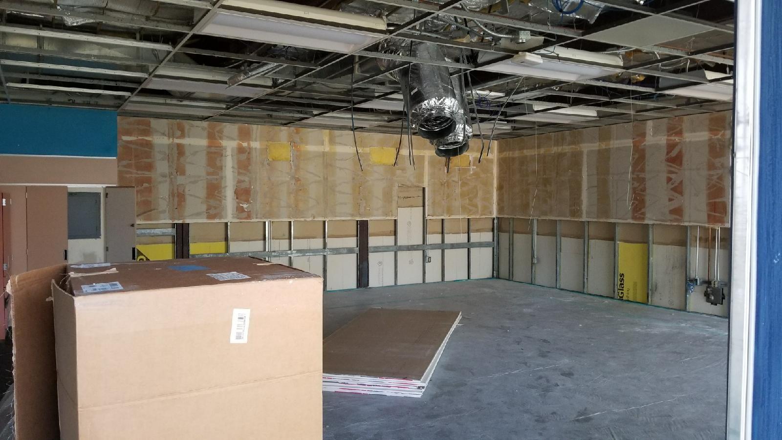 Park Hill Elementary School Modernization Construction