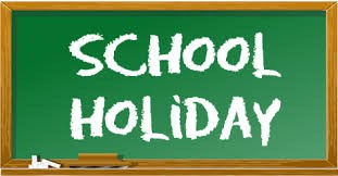 May 28th: School Holiday Thumbnail Image