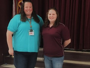 Teachers of the Year - Patterson & Puryear