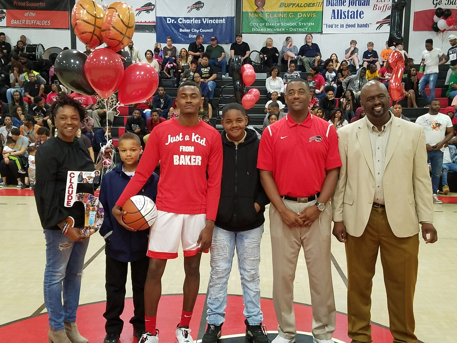 Claude Coleman - Baker High School Boys Basketball Senior