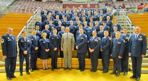 AF JROTC group photo