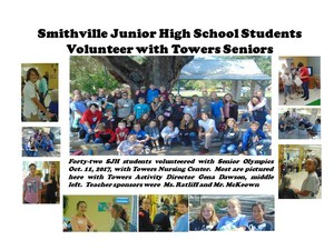 Smithville Junior High School Students Volunteer with Towers.jpg