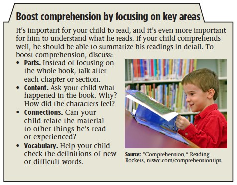 Boost Comprehension By Focusing on Key Areas
