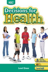 Decisions for Health Textbook