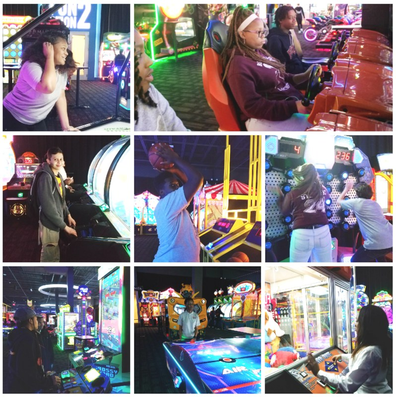Honor Roll and Guiding Five Principle Scholars Enjoy Trip to Dave & Buster's Thumbnail Image