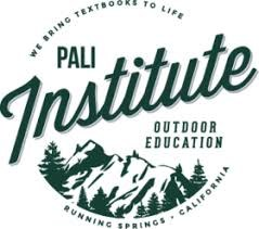 Pali Institute logo with trees and mountains