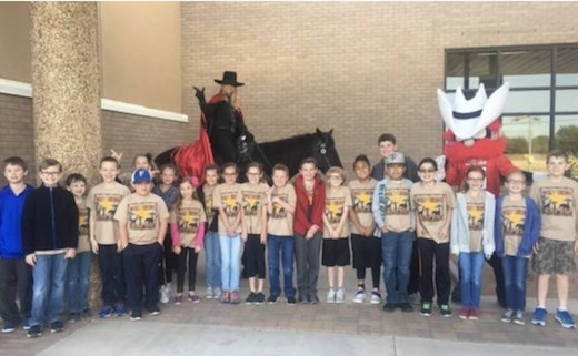 GEAR Students and Raider Red