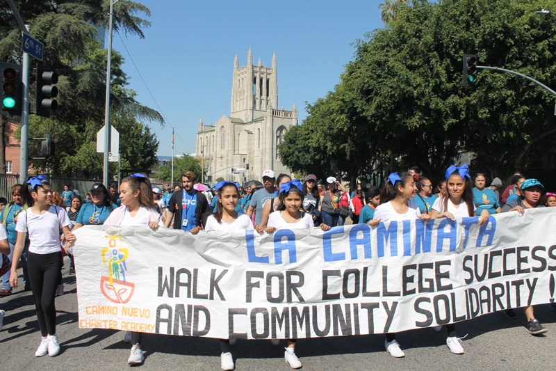 walk for college