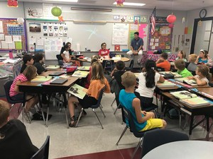 Picture of Mrs. Amann's class