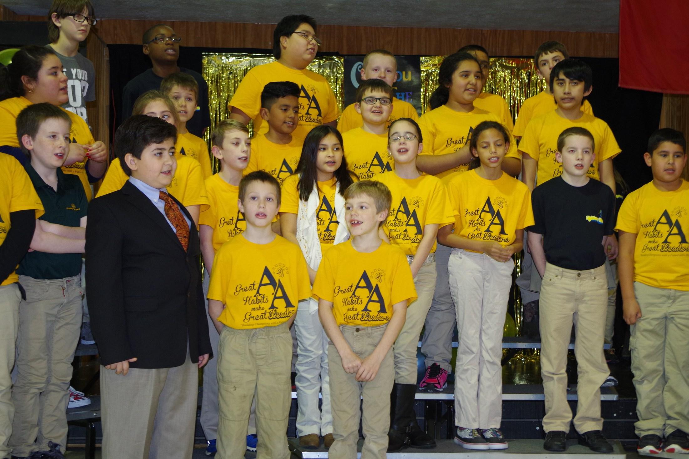 Advantage Academy Elementary class