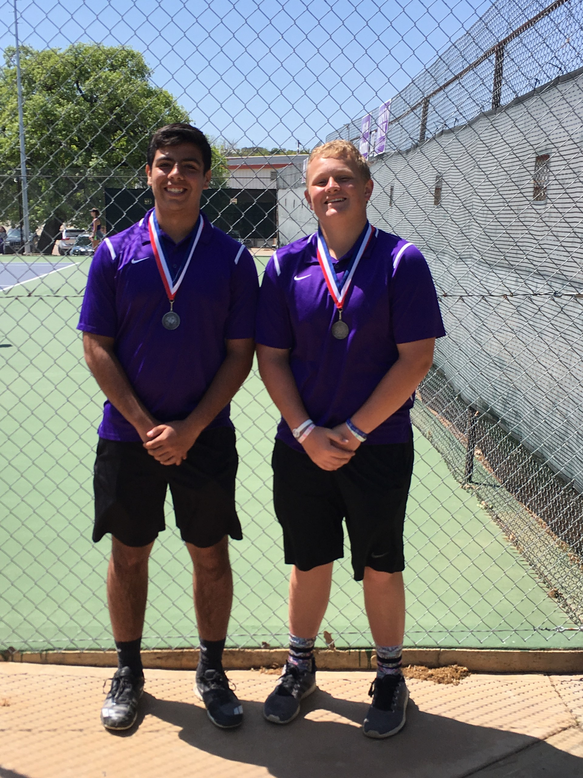 Ellijah Pinter & Slone Stultz - JV Boys Doubles 2nd Place