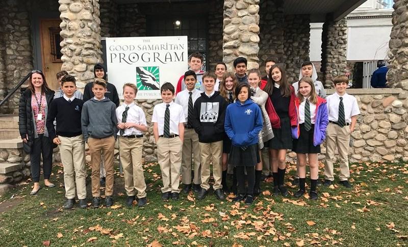 Collegium students volunteer at The Good Samaritan Program Featured Photo