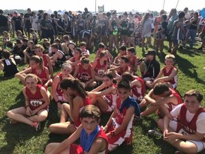 The OMS Cross Country Team