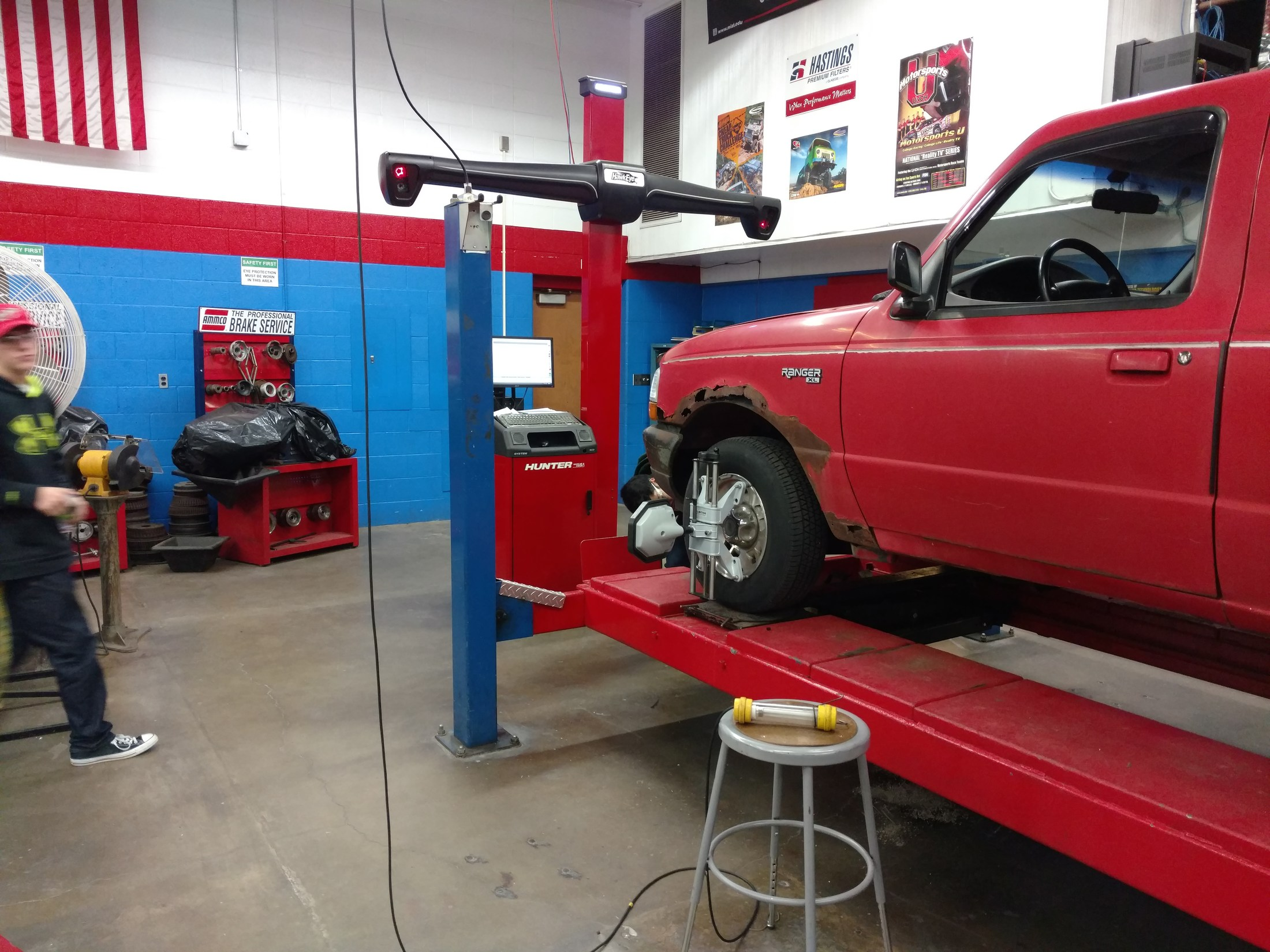 More Wheel Alignment fun on the Ranger