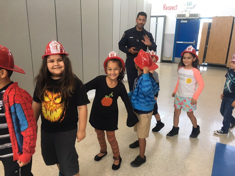 TK-2nd grade participated in a Fire Safety Assembly on Friday, October 13th!  (click here for pictures) Thumbnail Image
