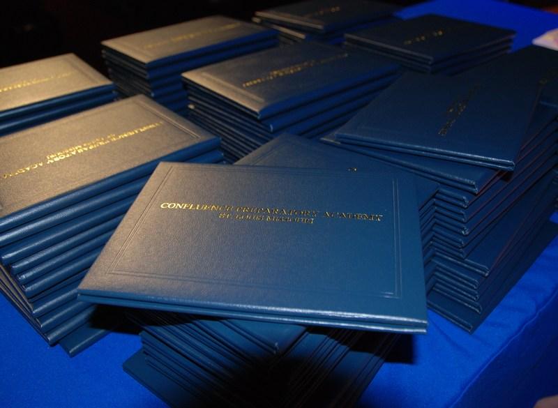 Confluence Preparatory Academy diploma cover