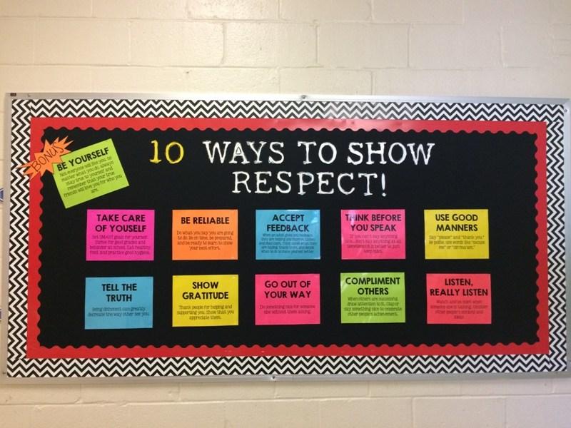 respect bulliten