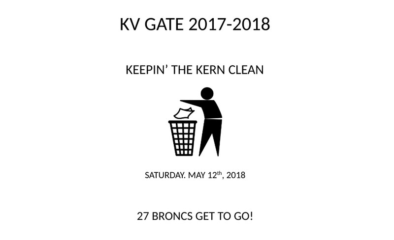 Keepin' The Kern River Clean KVHS GATE PROGRAM Thumbnail Image